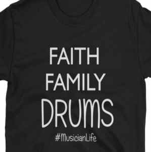 Image of Drummer T-shirt