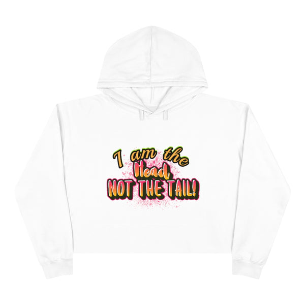 I am the head - Crop Hoodie