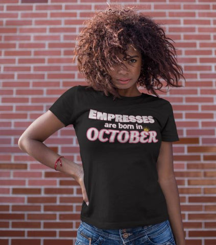 Image of The October Birthday Shirt