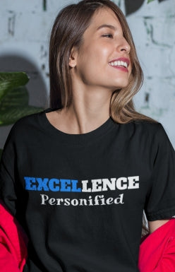 Image of Christian women's apparel  Excellence Short-Sleeve Unisex T-Shirt