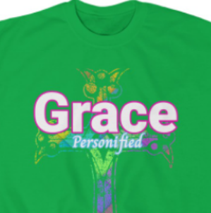 """Grace"" Religious or Christian Sweatshirt"
