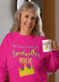 Image of grandma sweatshirt and Christian women's apparel