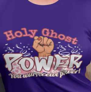 Image of holy spirit shirt and cool Christian shirts