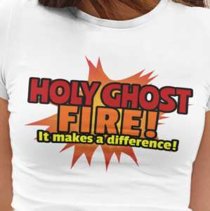Image of Cool Christian Shirts and Holy Ghost T shirt