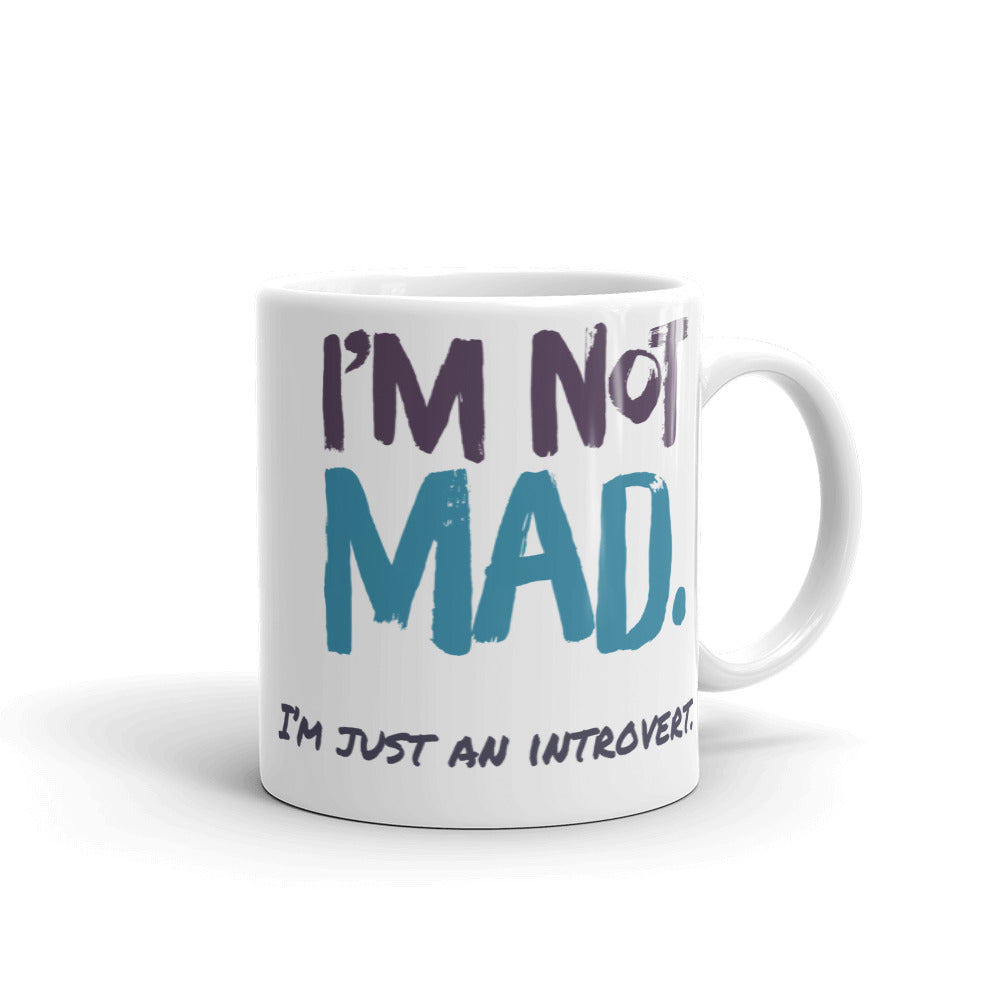 One of the best gifts for introverts -  introvert mug