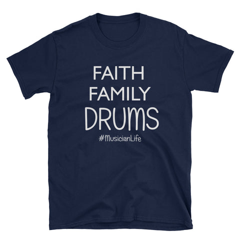 Image of Show some love for drummers with these funny drum inspired t-shirt