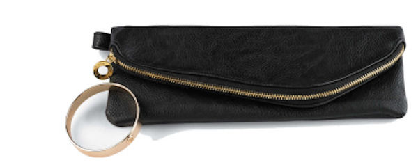 Mud Pie Cuff Clutch - Black