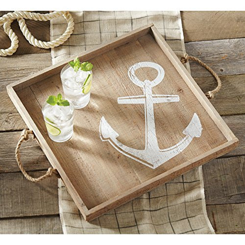 Mudpie Anchor Wood Tray
