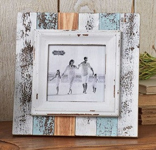 Mud Pie Square Beach Frame