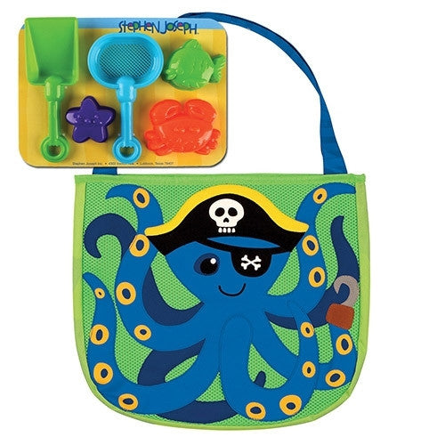 Stephen Joseph Beach Tote-Octopus