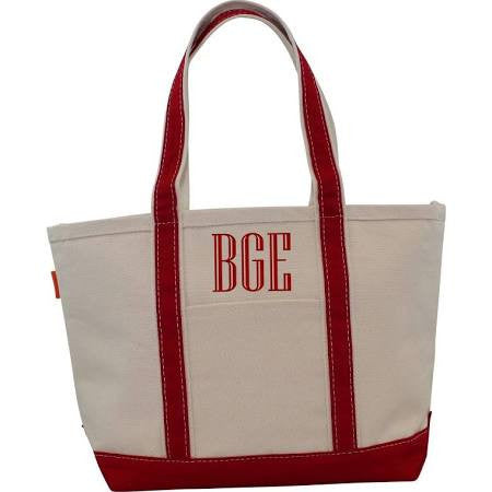 CB Station Medium Boat Tote - Red