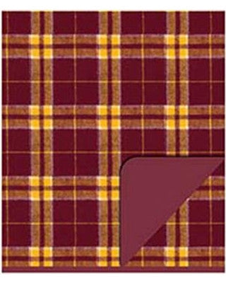 Boxercraft Flannel Blanket - Garnet/Gold