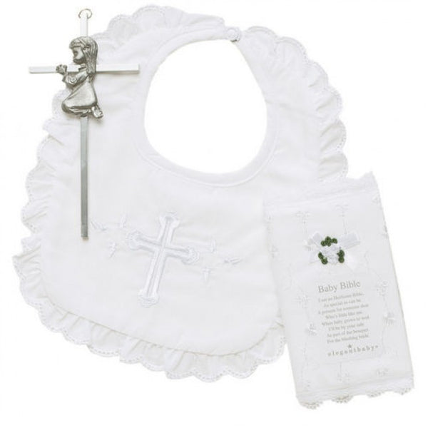 Elegant Baby Christening Gift Set (girl)