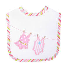 3 Marthas Bathing Beauties Feeding Bib