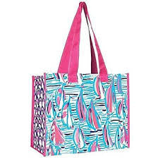 Lilly Market Bag - Red Right Turn