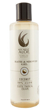 Key West Aloe Coconut Bath & Shower Gel