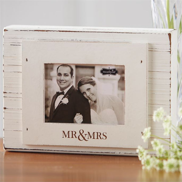Mudpie Mr and Mrs Block Frame