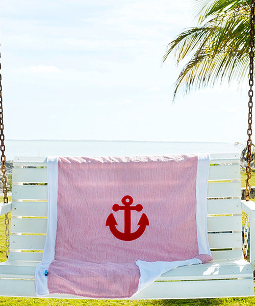 Nikiani Towel / Blanket - Anchor