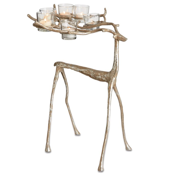 Mudpie Stag Votive Holder