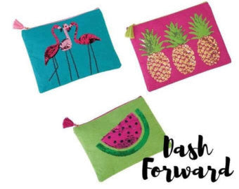 Mud Pie Tropical Dazzle Case - Watermelon