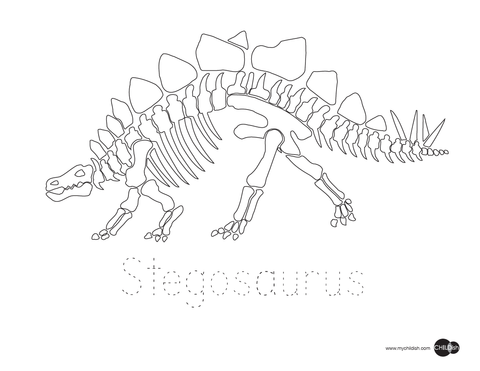 Dinosaur Printable Coloring Pages  CHILDish