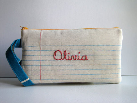 Personalized Pencil Case