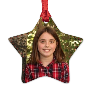Star Photo Ornament