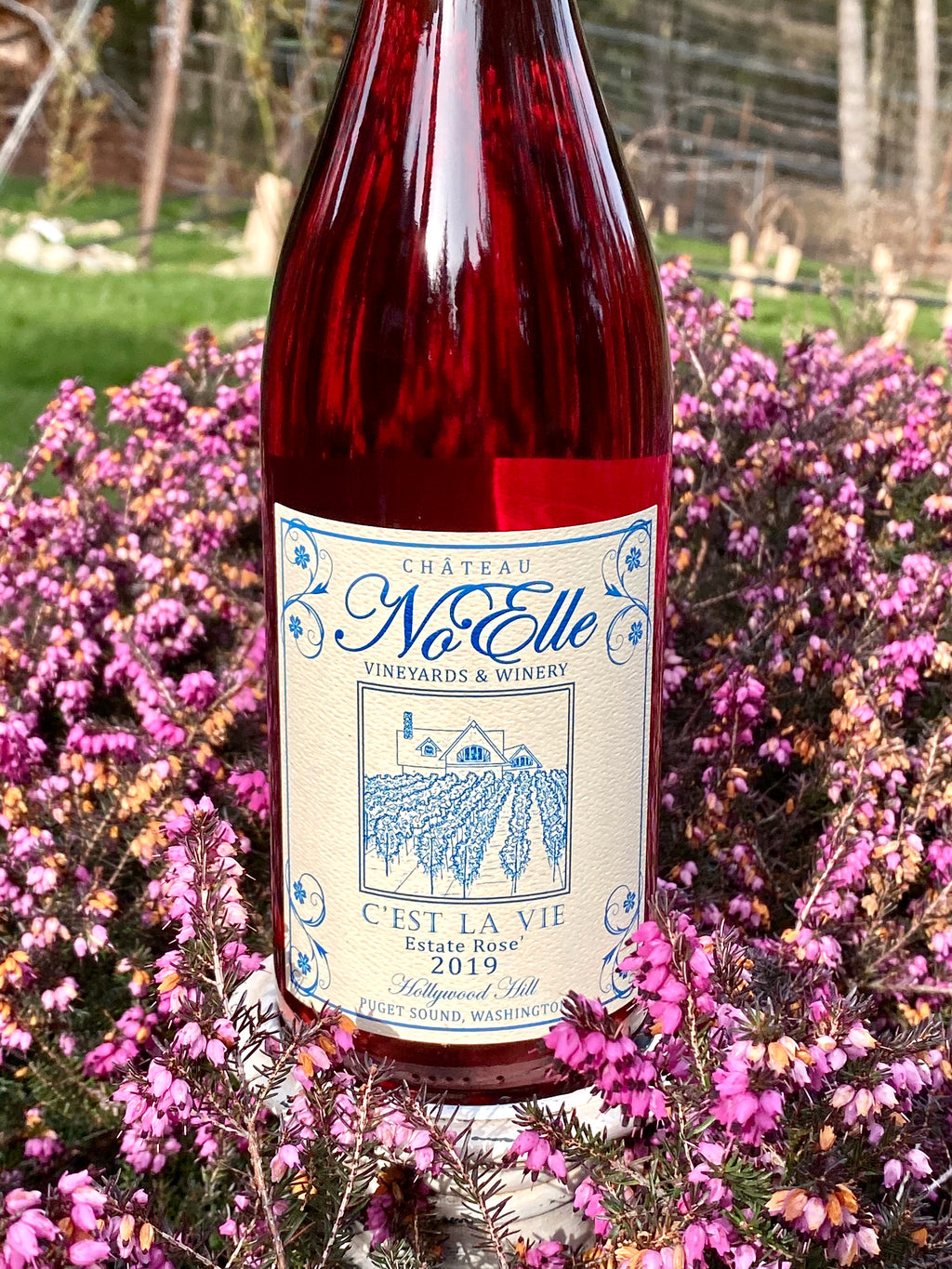 C'est La Vie Rose' Pinot Noir - Gold 2020 Seattle Wine Awards
