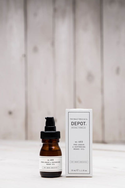 depot NO.403 pre shave & softening beard oil