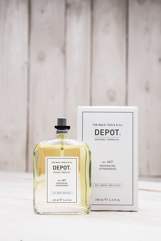 Depot NO 407 Restoring Aftershave