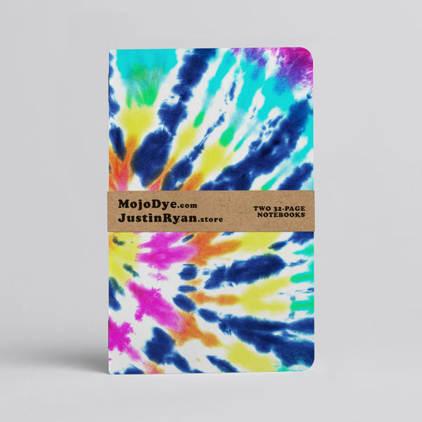 Tie Dye (via Mojo Dye) - Two 32-page books