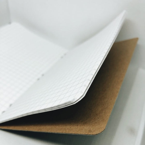 Recycled Vinyl Record Notebook - 32 page memo book