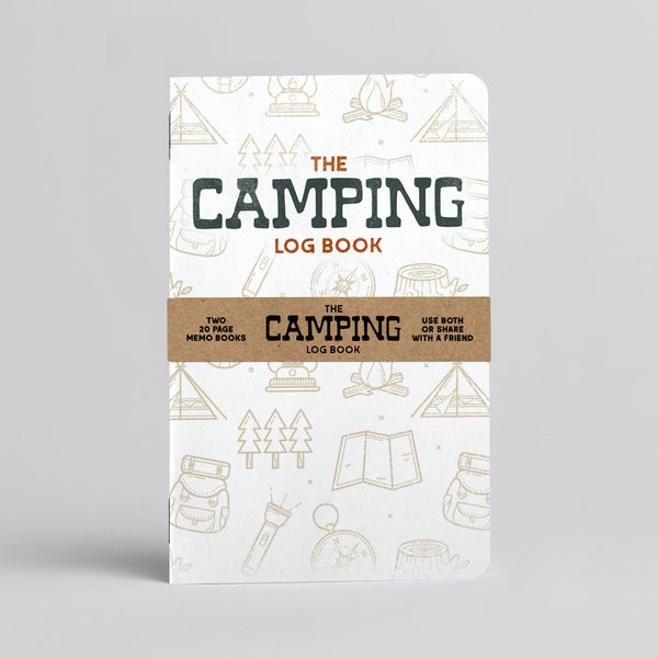 Camping Log Book - Two 20-page books