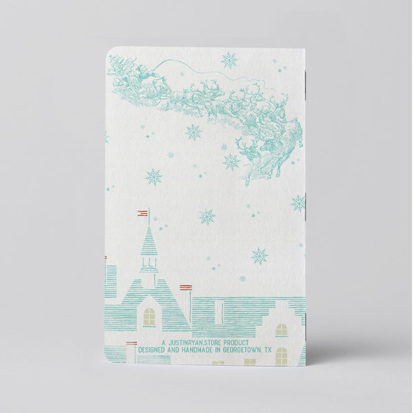 Christmas List Log Book - One 24-page pocket sized logbook