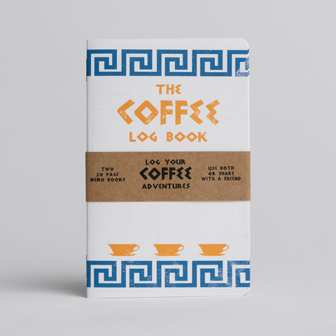 Coffee Log Book - Two 20-page books