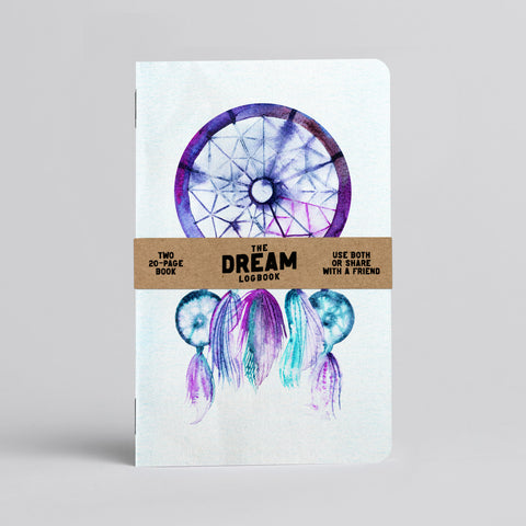 Dream Log Book - Two 20-page books