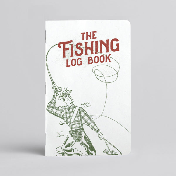 Fishing Log Book - Two 20-page books