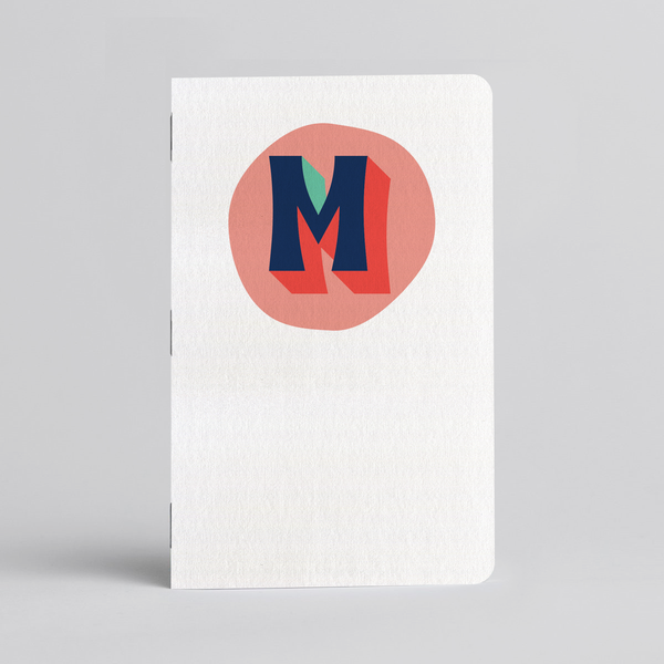 Funky Monogram - Two 32-page books