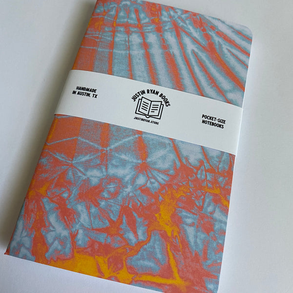 Tie Dye - Two 32-page notebooks