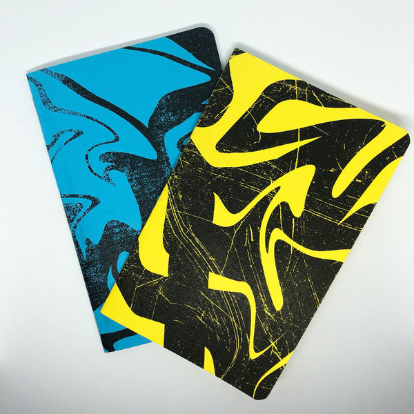 Neon Marble - Two 32-page books