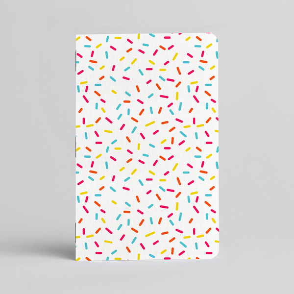 Rainbow Sprinkles Memo Books - Two 32-page books