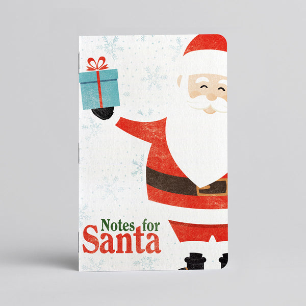 Notes For Santa Log Book - One 12-page pocket sized logbook