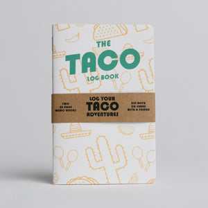 Taco Log Book - Two 20-page books