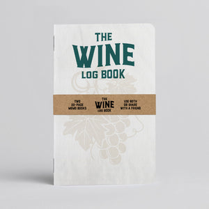 Wine Log Book - Two 20-page books