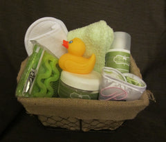 Pedicure and Relax Bath Basket for Mom