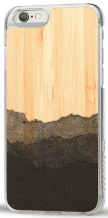 Recover iPhone 6 Plus Dip Dye Bamboo Case