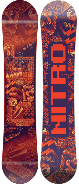 Nitro Ripper Youth Snowboard - Kid's
