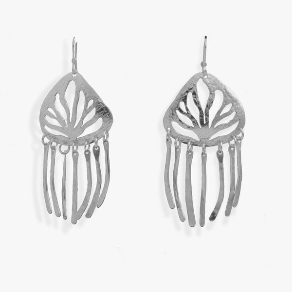 Sea Grass Earrings Dangly - Small
