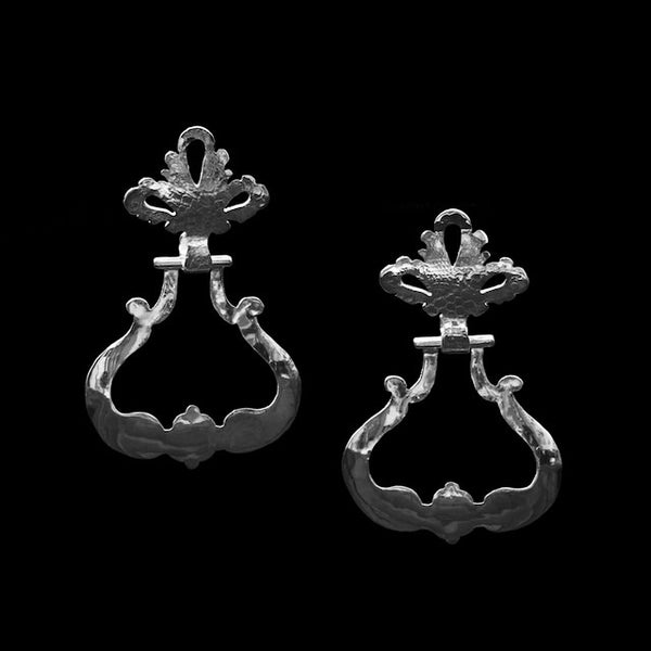 French Door Knocker Earrings