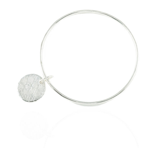 Lace Disc Bangle